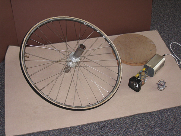 bicycle tire gyroscope